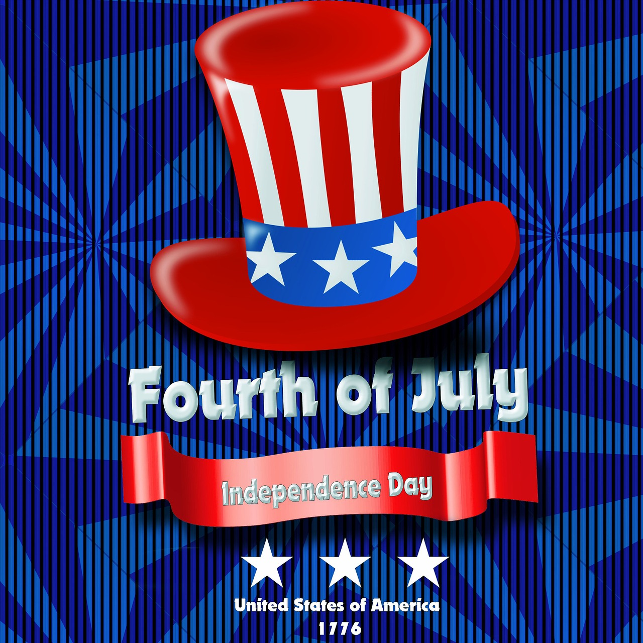 CLOSED Independence Day, Tuesday 07/02/2018 thru Thursday, 07/05/2018